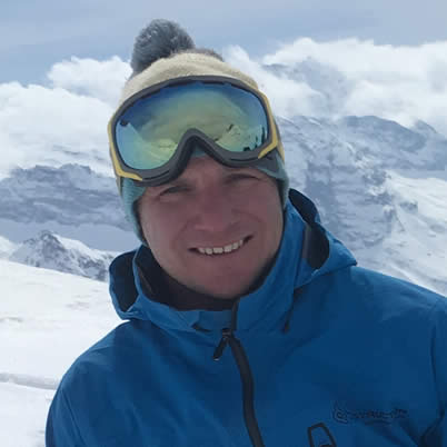 Roddy Clark Snowboarding Instructor French Alps