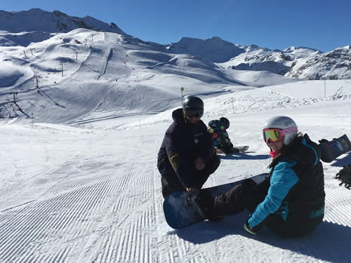 Private Snowboarding Lessons in Val d'Isere