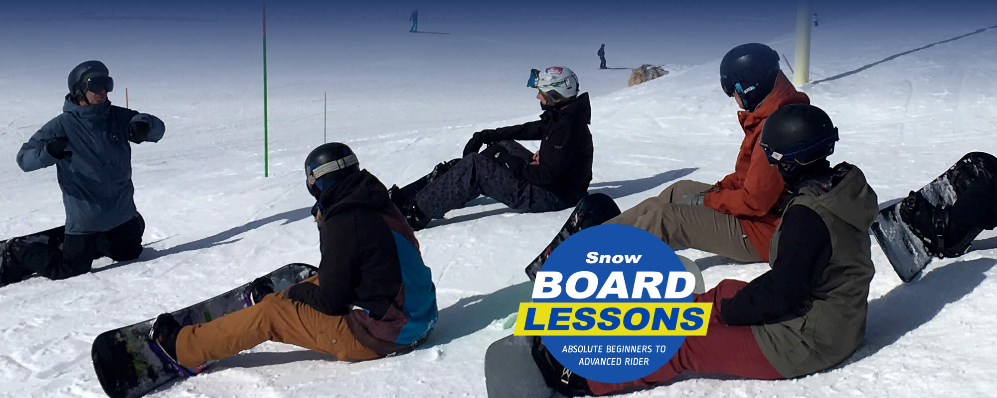 Snow Board Lessons at Val d'Isere in the French Alps